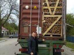 Дрова дубовые в Израиль поставки из Украины контейнерами