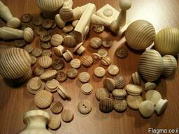 Заглушки деревянные - фото 1