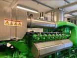 Б/У газовый двигатель Jenbacher 616 GSС87, 2000 Квт, 1997 г. - фото 3