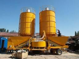 Б/У мобильный бетонный завод Fibo Intercon M22 (40-60 м3/ч)