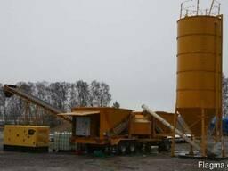 Б/У мобильный бетонный завод Fibo Intercon M22 (40-60 м3/ч) - фото 2