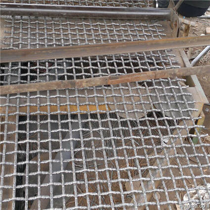 Hot dipped galvaznied crimped mesh