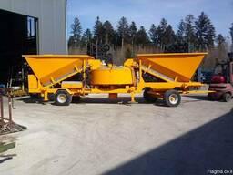 Мобильный бетонный завод Sumab LT 1200 (40 м3/час) Швеция - фото 2
