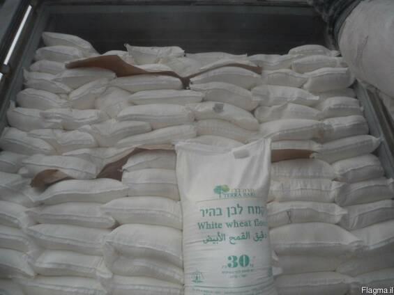 Мука высшего сорта в мешках 25, 30 и 50 кг