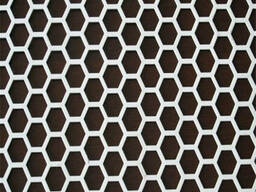 Perforated steel sheets with holes