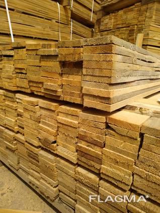 Pine lumber, Edged board, pallet 16×88×1000мм