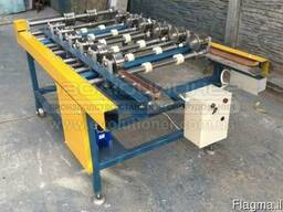 Portable roofing machine F3 for double standing seam system.
