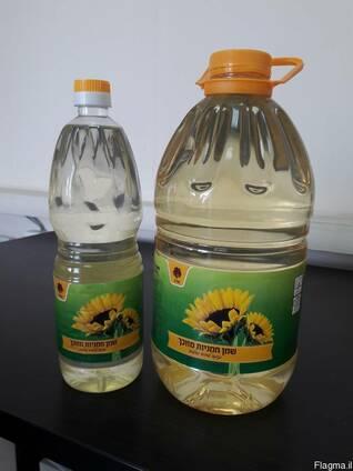 Растительное масло в бутылках 3, 5 литров
