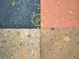 Tiles made of Armenian tuff