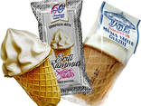 Вафельный стакан сладкий для мороженого - photo 3